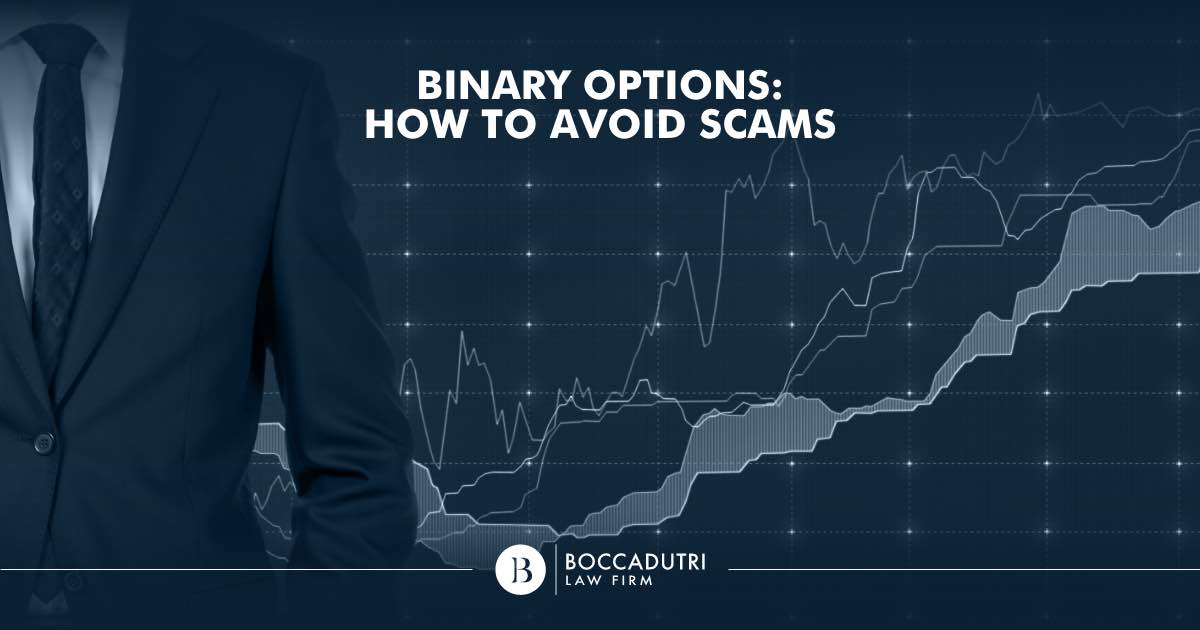 Binary Options: How to avoid scams