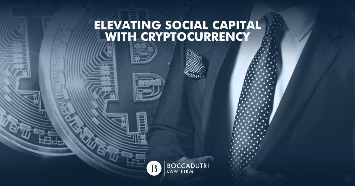 Elevating Social Capital with Cryptocurrency