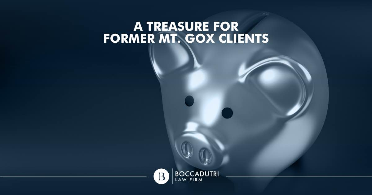 A Treasure for Former Mt. Gox Clients