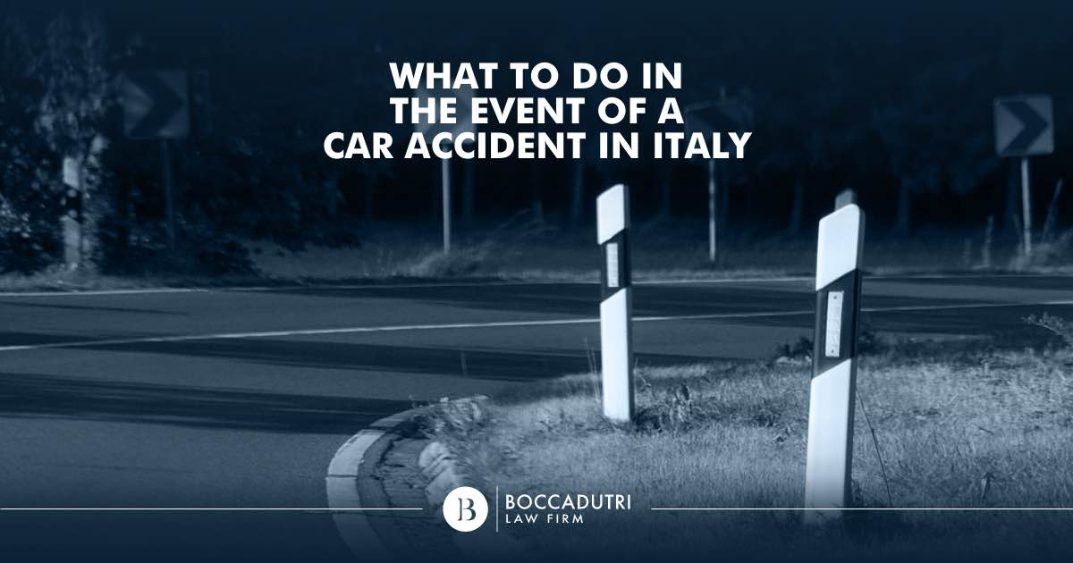 What to do in the event of a car accident in Italy