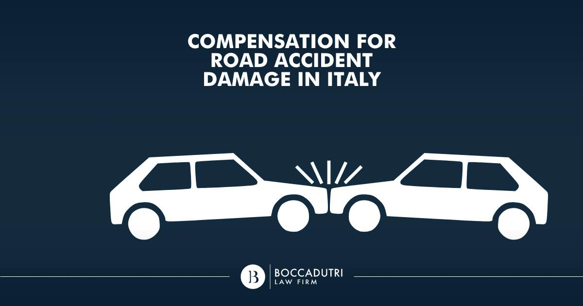 Compensation for road accident damage in Italy