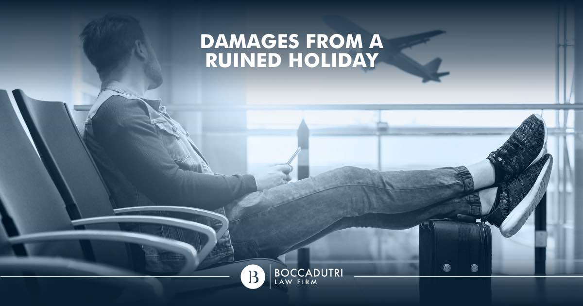 Damages from a ruined holiday